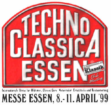 Techno Classica in Essen am 8.-11. April 1999