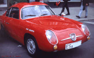 roter FIAT Abarth