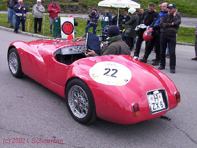 FIAT 500 Barchetta Colli, Bj. 1936, 19 PS, 0,6 l
