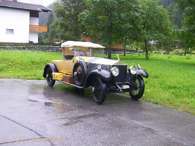 Rolls-Royce Silver Ghost, Bj. 1921, 80 PS, 7,4 l